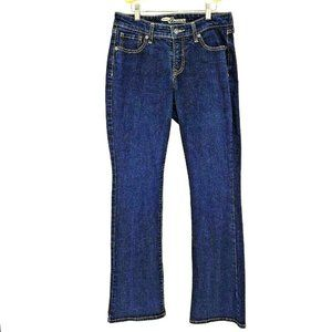 Old Navy the Dreamer Bootcut Jeans Dark Wash Blue